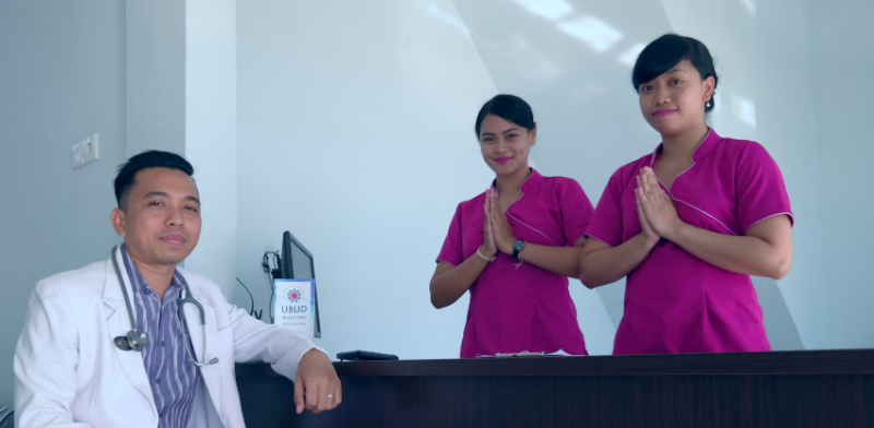 Ubud Health Care Clinic's staff
